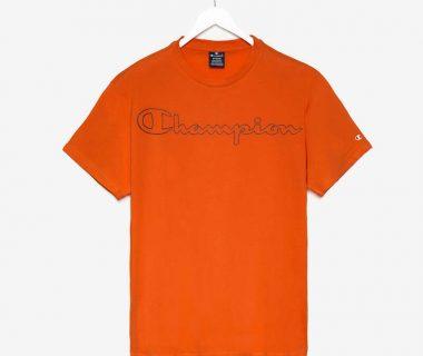 koszulka Champion pomarańczowa